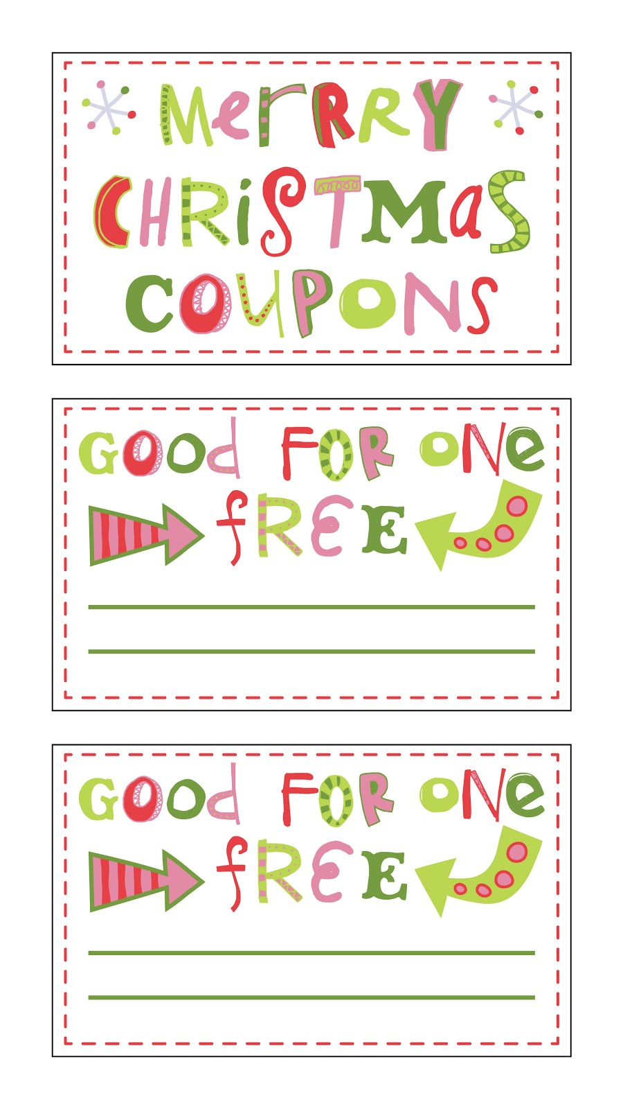 It is an image of Old Fashioned Printable Christmas Coupons
