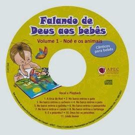 CD Falando de Deus aos bebês Volume 1.