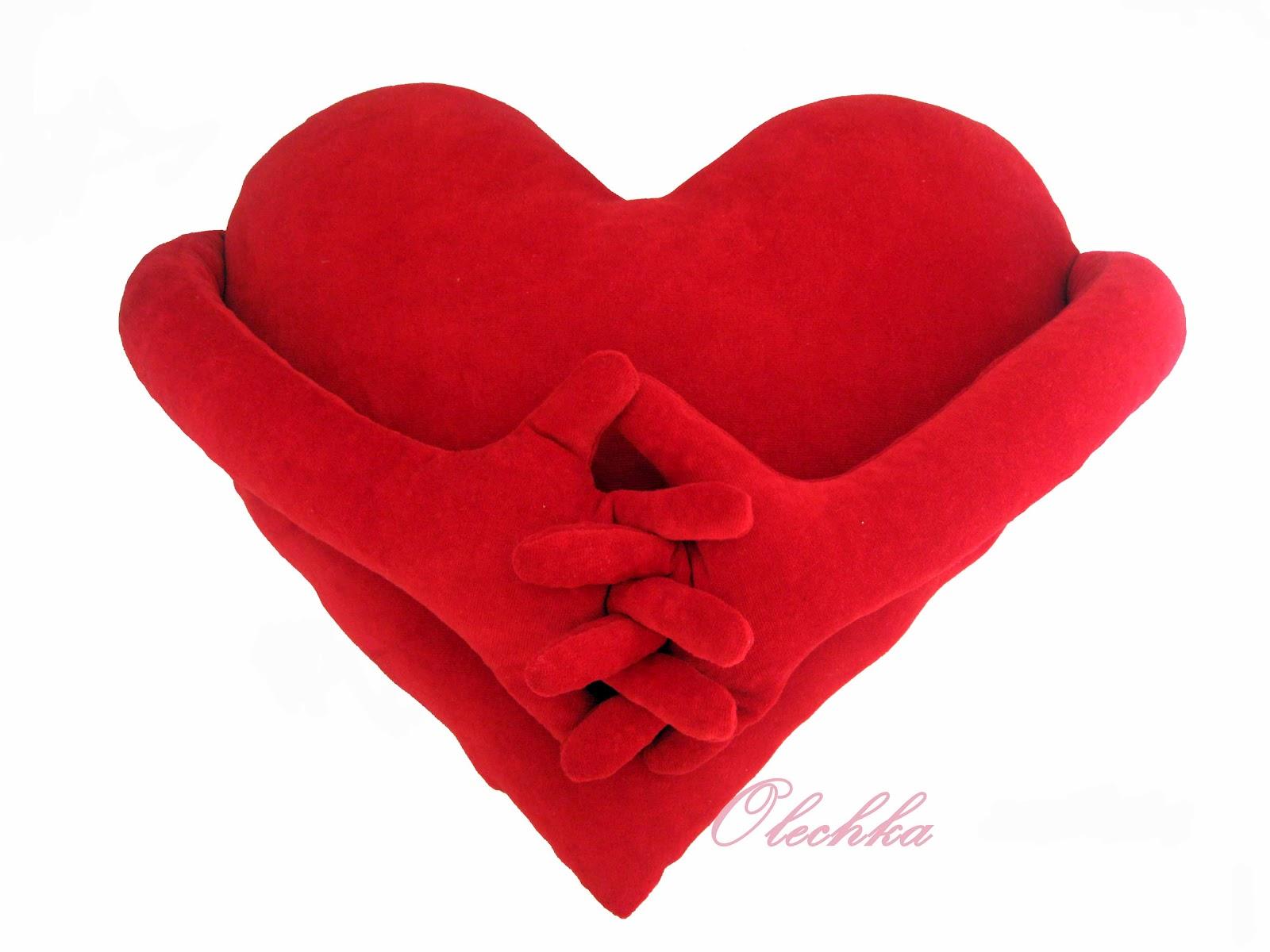 Сердце с руками и ногами своими руками