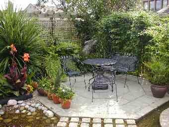 small garden patio designs for your small sized patio ayanahouse - Patio Garden Design