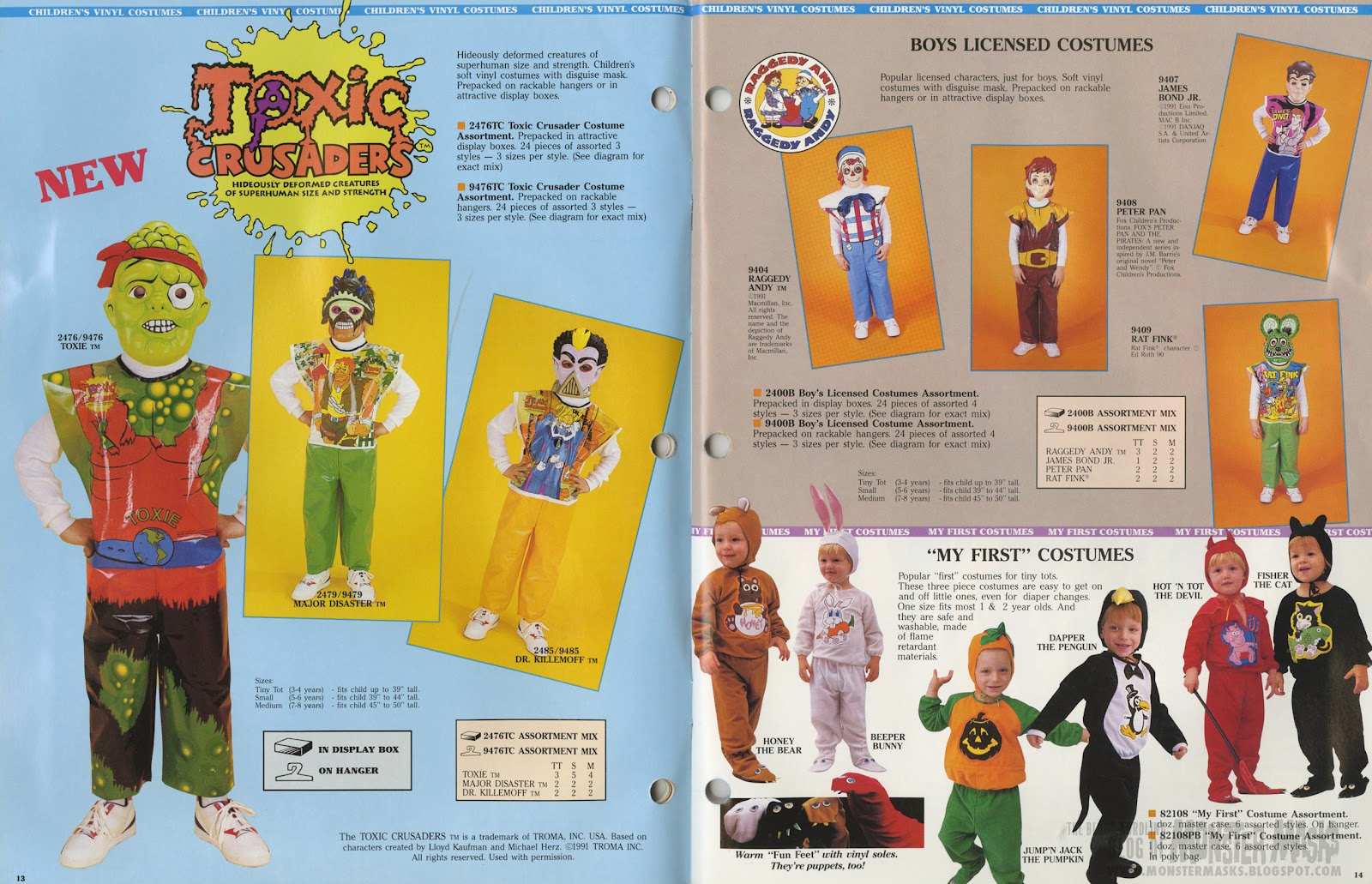 there is something very reassuring about the fact that there were still some pretty cool classic plastic halloween costumes available to kids in
