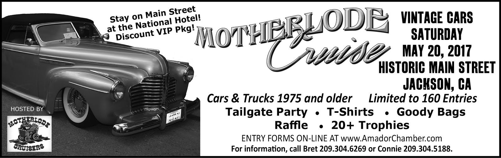 7th Annual Motherlode Cruise- Sat May 20