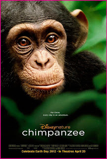 upper grade ideas to use with the movie Chimpanzee