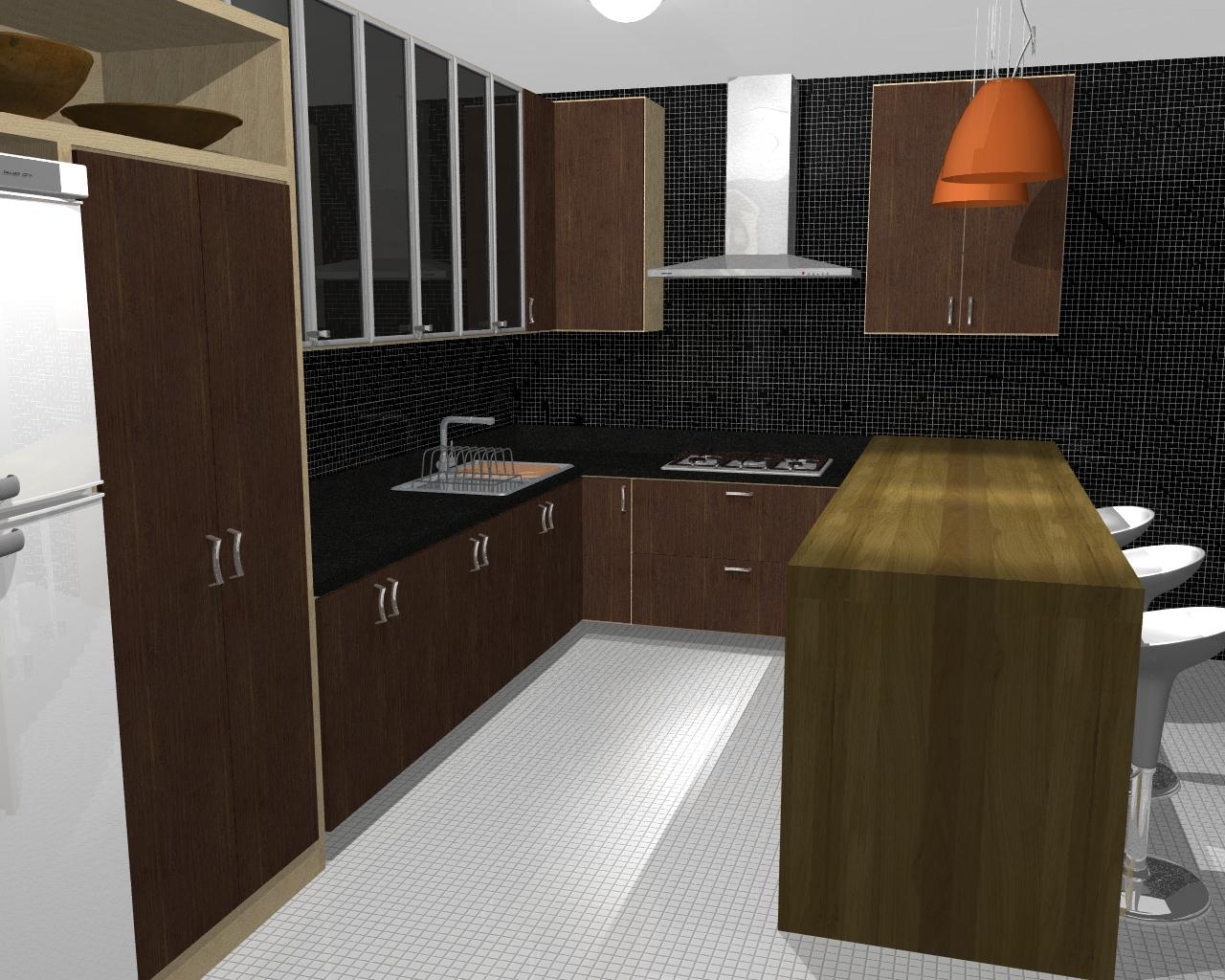 Móveis Mobille: Projetos 3D #A85123 1280 1024