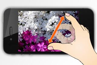 iphone pantalla tactil