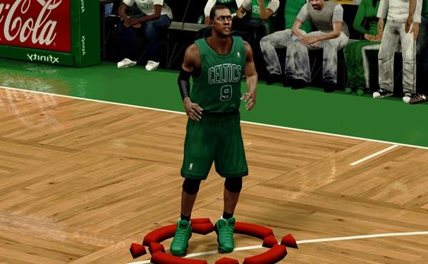 NBA 2K13 Boston Celtics Christmas Jersey Patch - NBA2K.ORG