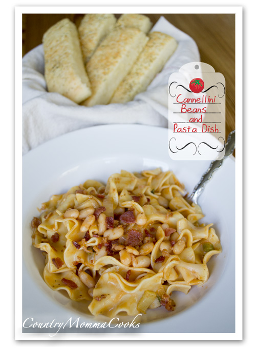 Cannellini Beans and Pasta Dish