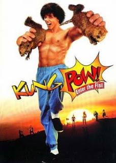 Portada película Kung Pow Enter the fist humor absurdo fotogramailustrado nunchakus kung fu