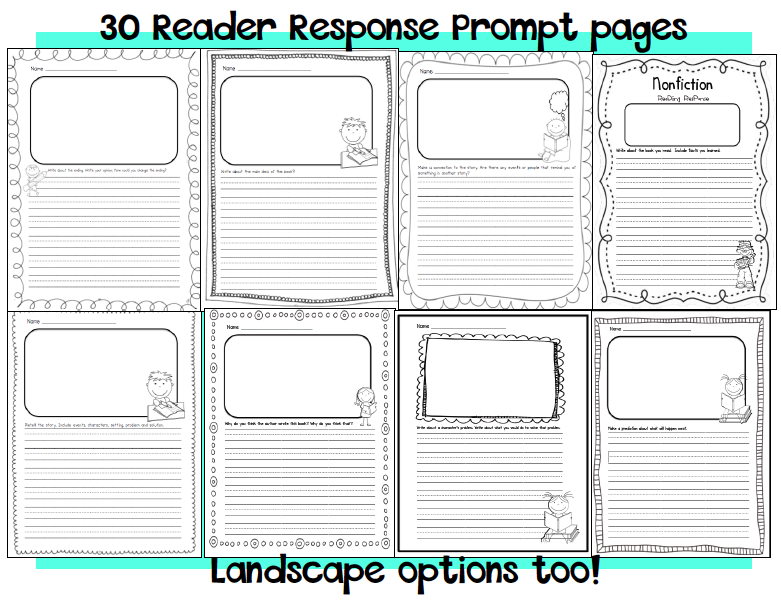 2nd Grade 2nd Grade Reading Response Worksheets Printable – Reading Response Worksheet