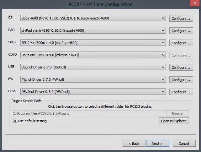 cara setting emulator PS2 dan download PCSX2