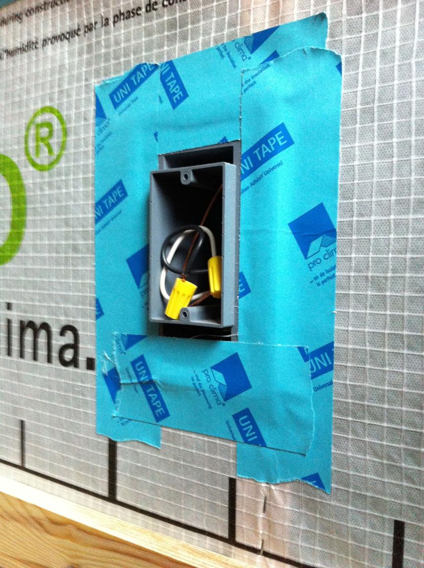 The bldgtyp blog air sealing step 03 poking holes - Sealing exterior electrical boxes ...