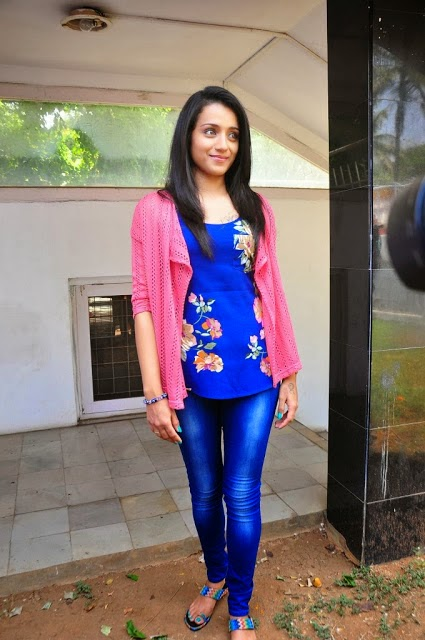 Trisha Hot pics in jeans