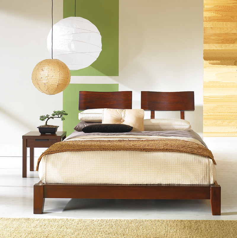 The Tokyo Floating Platform Bed Collection