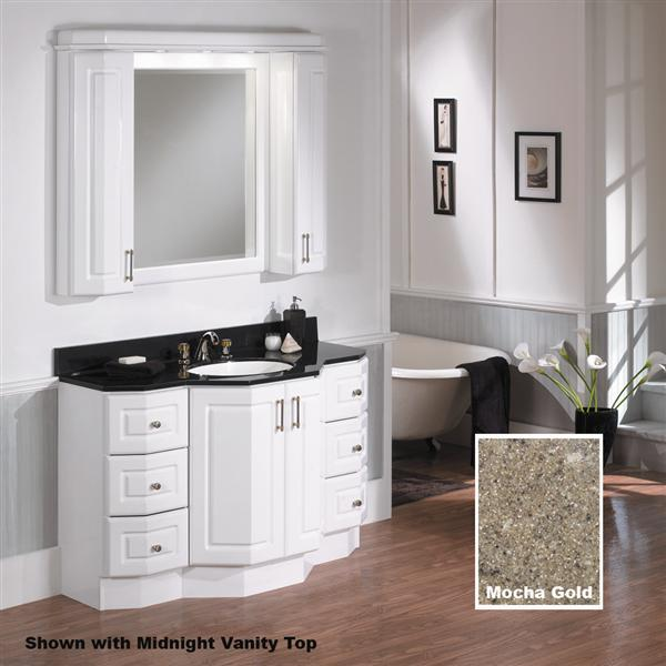 Bathroom decisions decisions decisions kroppin karen 39 s korner for Bathroom vanity upper cabinets