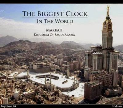 Menara Abraj Al Bait Mekkah