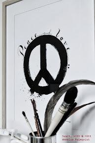 """""""Peace"""" A3 och A4"""
