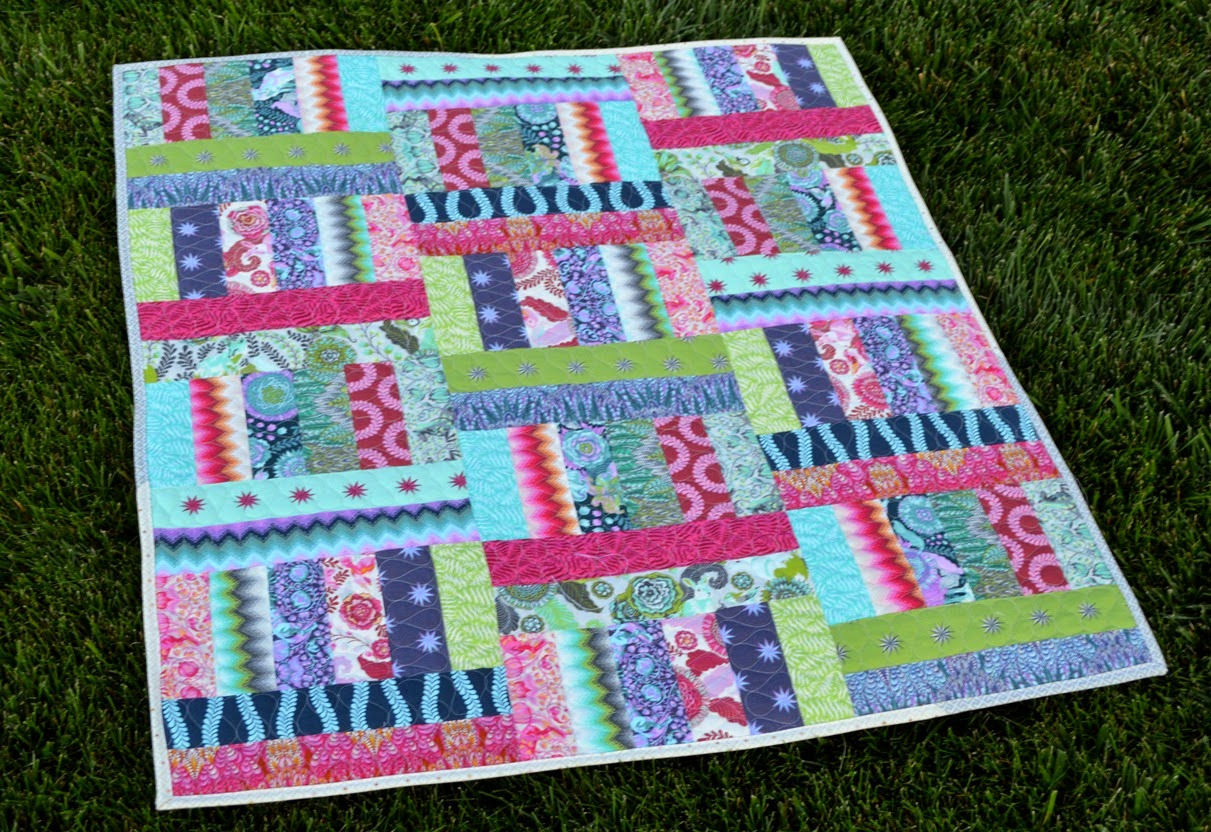 Happy Quilting Jelly Roll Jam 2 With The Fat Quarter Shop