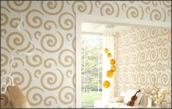 Sua casa seu espelho fica caro colocar papel de parede for Papel de pared precio