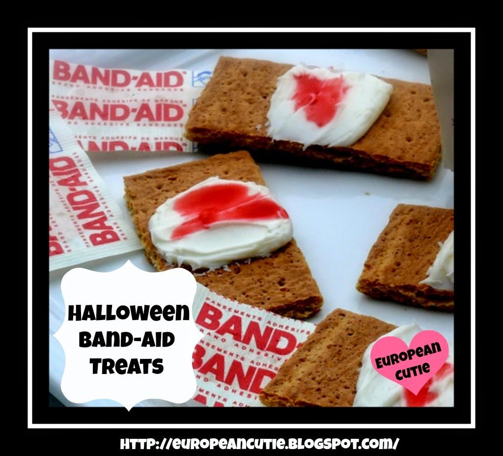 halloween band-aid treats ♥