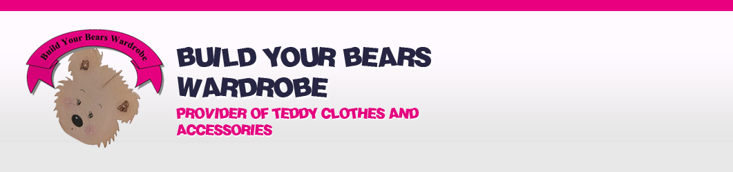 "Build a Bear fit teddy Bear clothes for 14-16"" teddies"