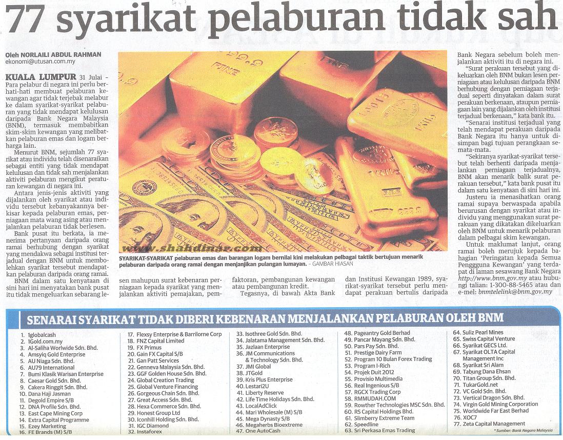 Forex sah di malaysia