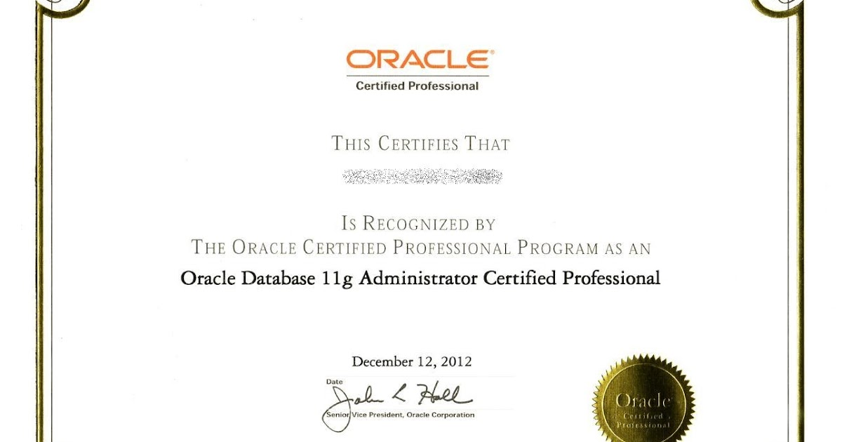 3 Reasons To Invest In Oracle Certifications View All