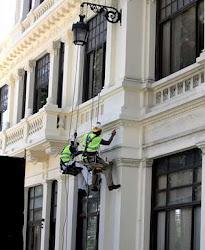 Trabajos pintura fachadas