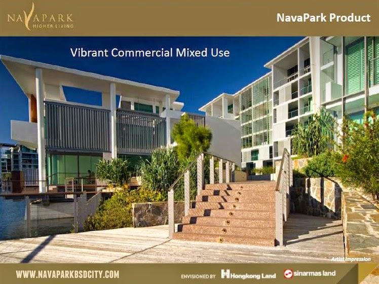 NavaPark BSD Commercial Area
