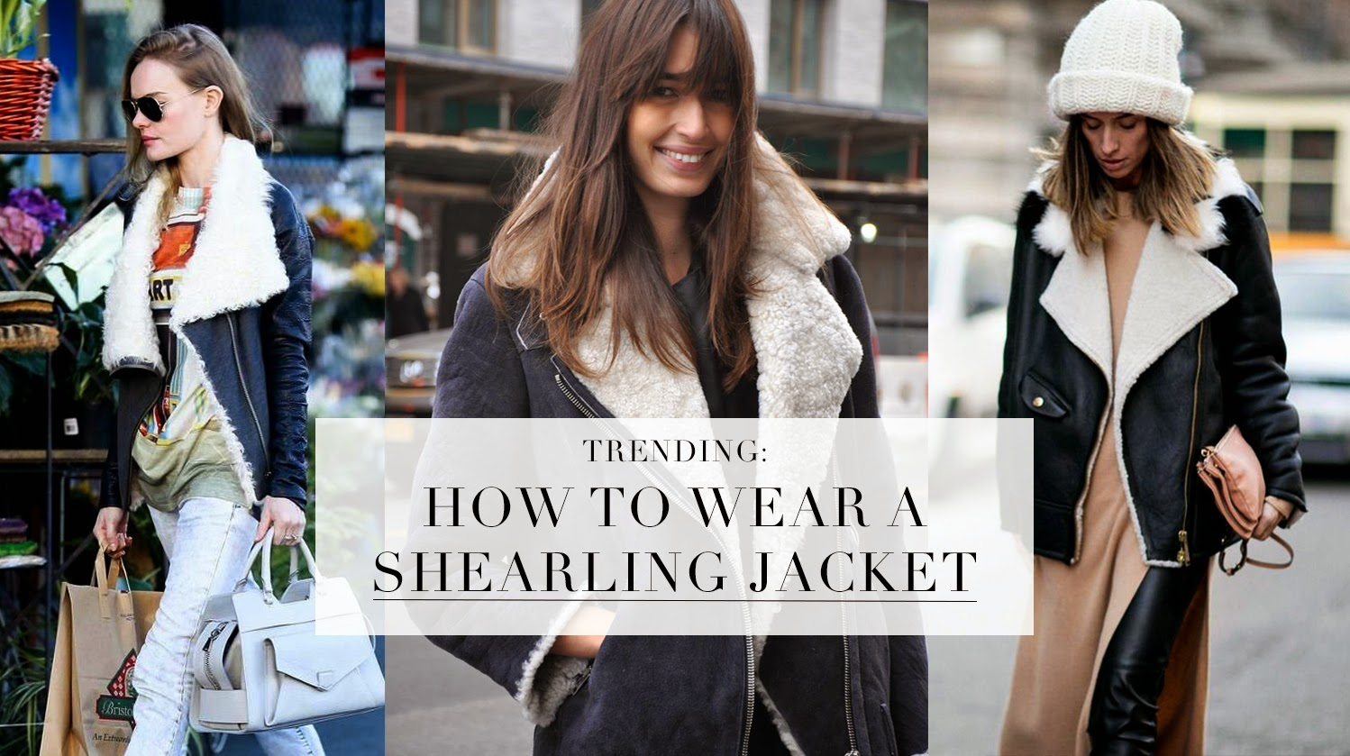 How To Wear Sheepskin Coat | Down Coat