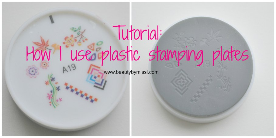 plastic stamping plate tutorial