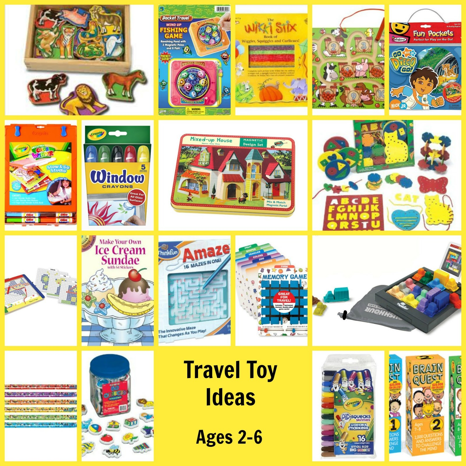 Toys For Travel : Best practices of traveling long distances with kids