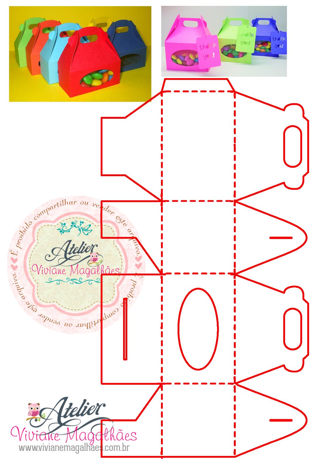 Aparador Madera Acacia ~ Artesanato Viviane Magalh u00e3es DIY Como fazer caixas coloridas (especial de Natal)