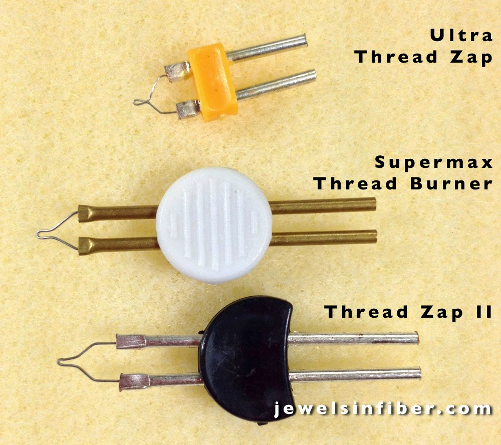 Comparing Replacement Tips for Super Max Thread Burner or Pen, Ultra Thread Zap, Thread Zap II