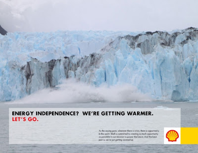 Let's Go ad for Shell Oil Arctic oil development