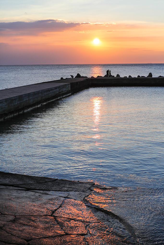 麟山鼻夕陽