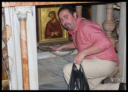 Sepulcro, Lugar donde Jesus murio en la Cruz