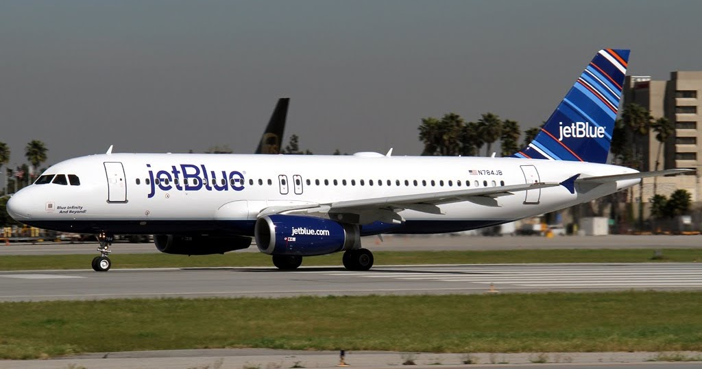 aero pacific flightlines new jetblue airbus at long beach today. Black Bedroom Furniture Sets. Home Design Ideas