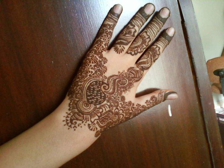 Mehndi Henna Tips : New mehndi for hands beauty tips info