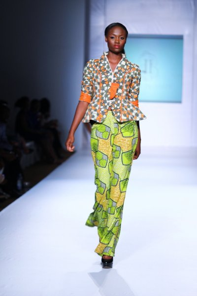 African-print-trousers-MTN lagos fashion and Design week 2012: Iconic invanity-nigerian- fashion