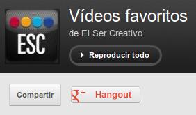 Vídeos El Ser Creativo