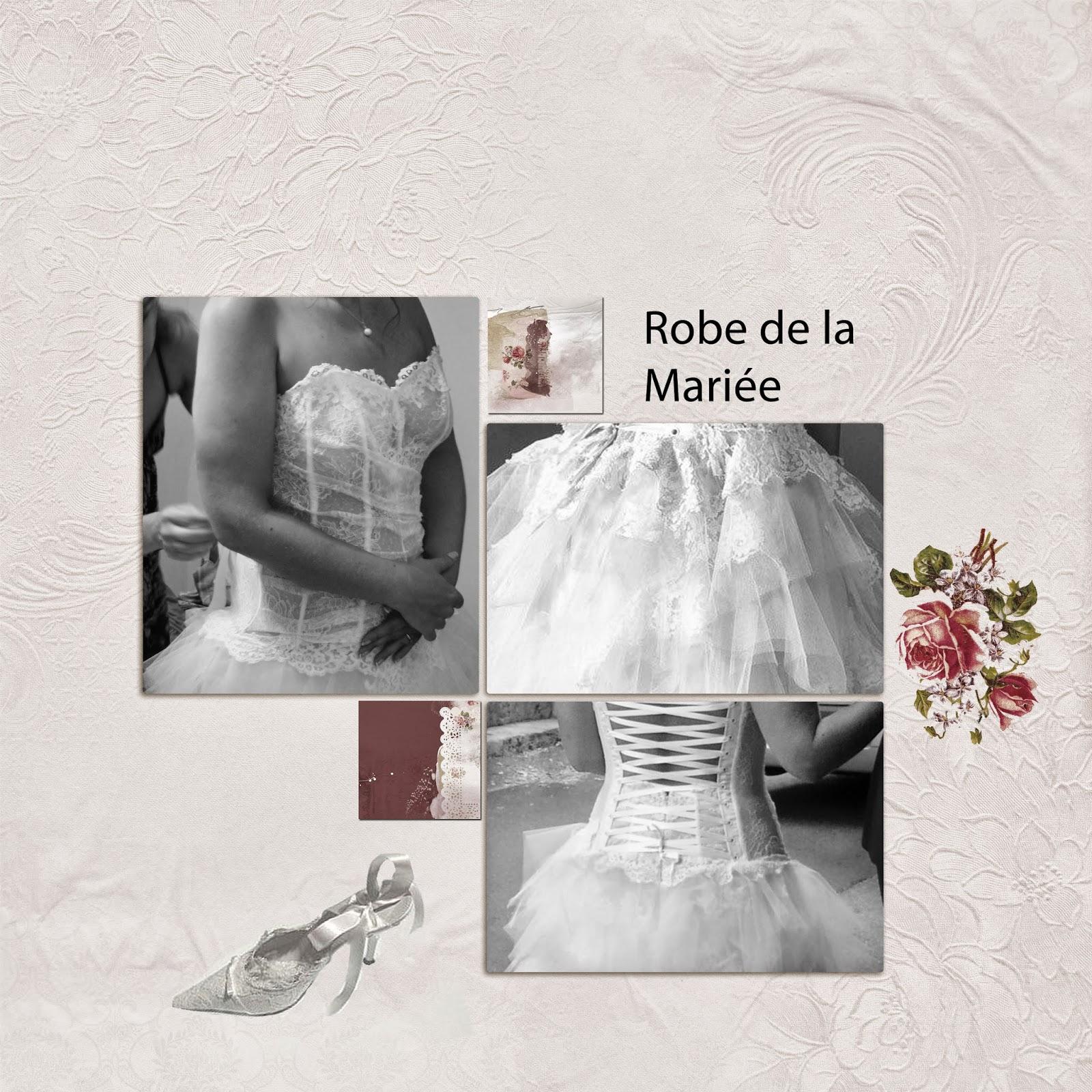 Le scrapbooking de martinascrap robe mari e for Robes de mariage cyber lundi