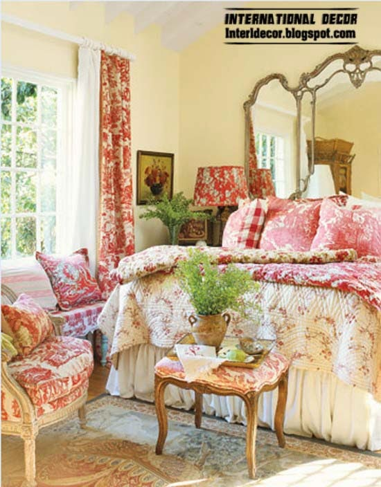 Provence style interior designs textiles ideas
