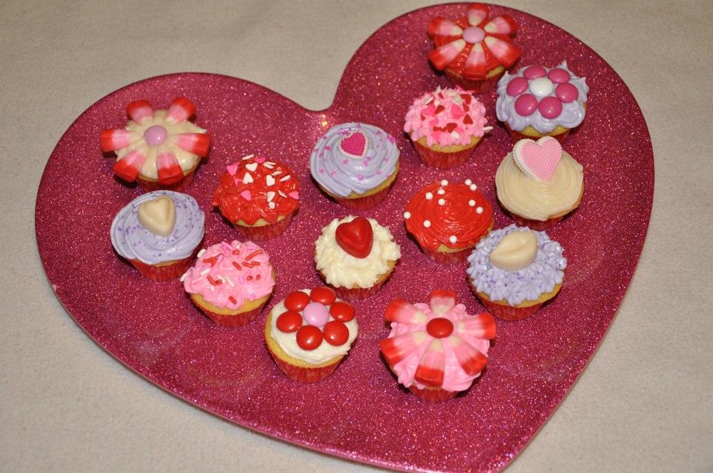 Valentine cupcake ideas