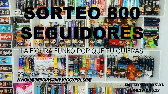 SORTEO INTERNACIONAL 800 SEGUIDORES - Funko Pop a elegir + Llavero Funko