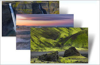 Download beautiful Iceland Desktop themes for Windows 7