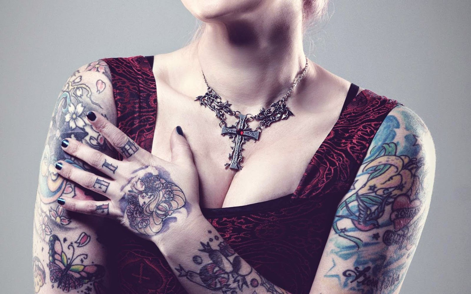 Best tattoo girl collection in the world - Full Body Tattoos