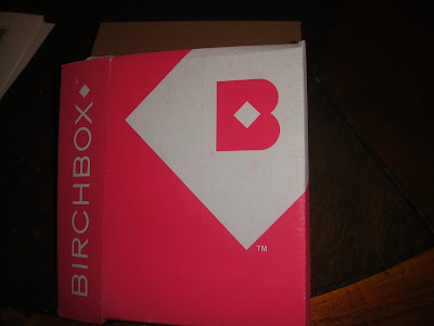 Birchbox August 2013, birchbox august