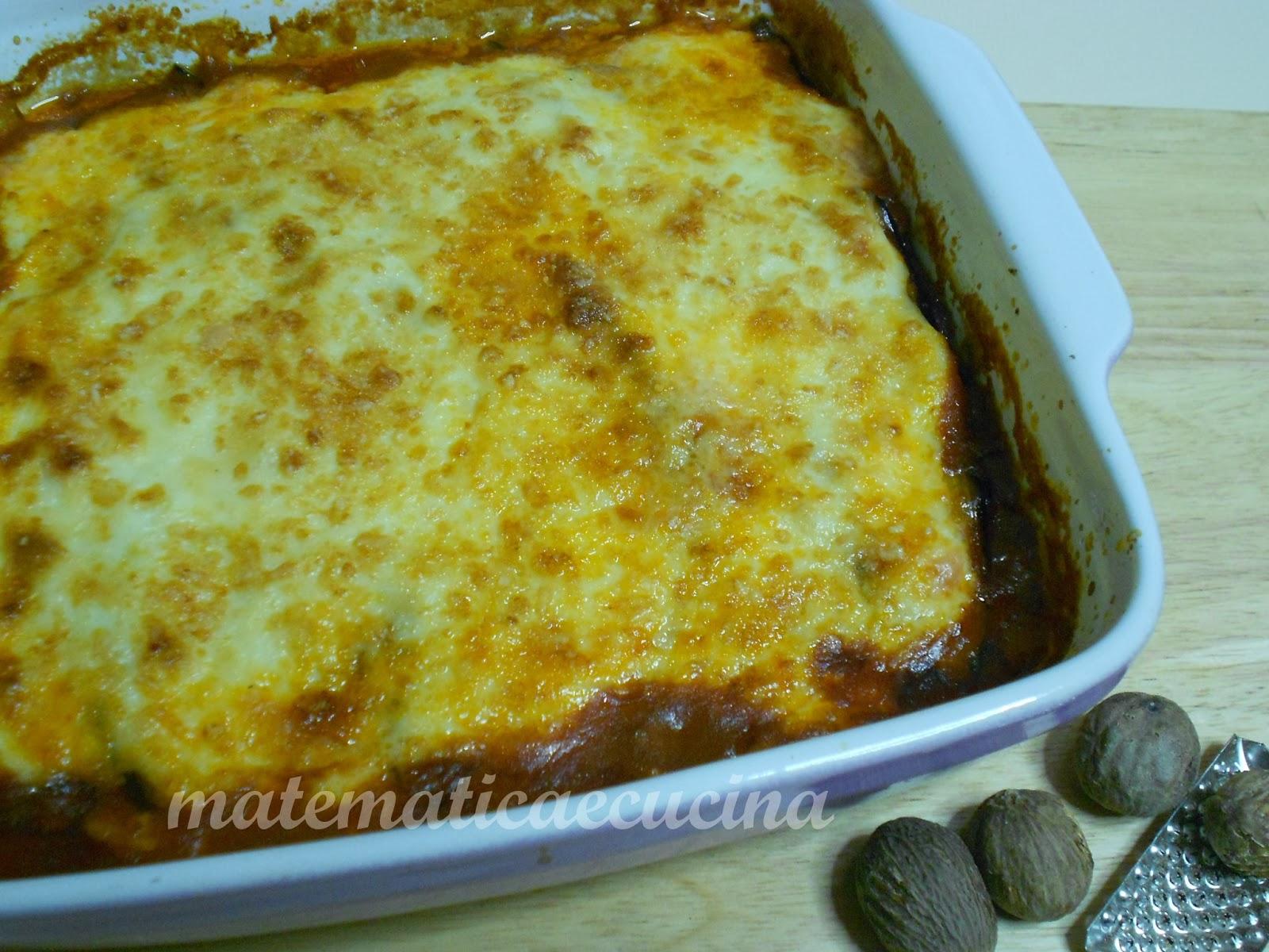 ricette greche: moussaka senza patate