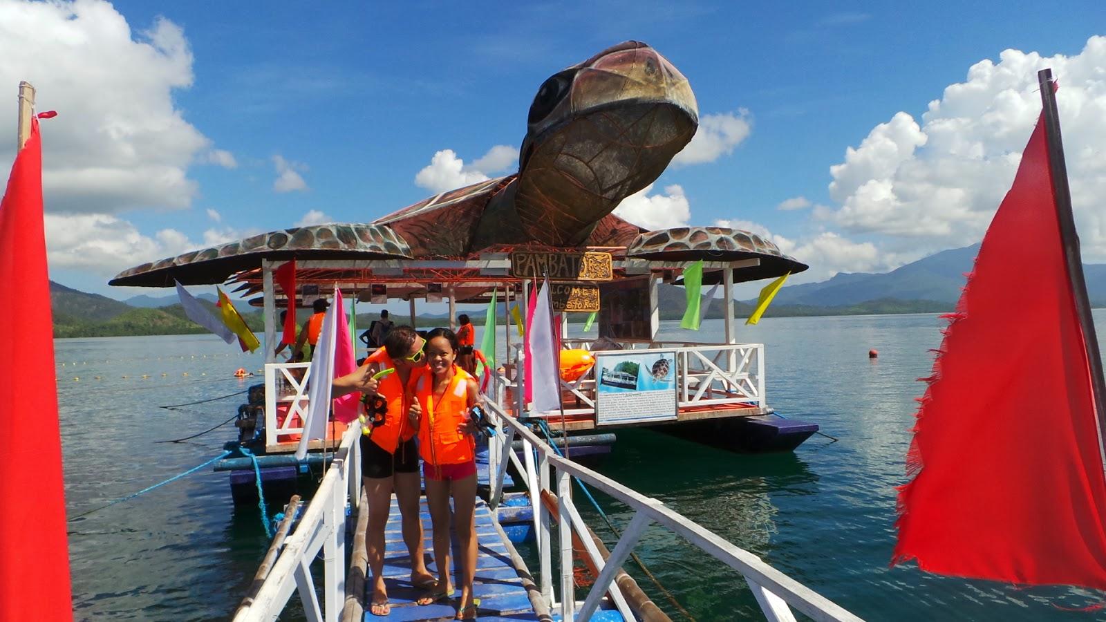 Snorkeling at Pambato Reef