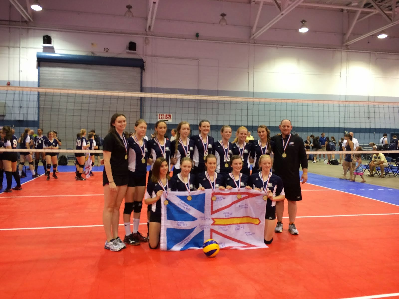 GVC and Province Represented well at Eastern Elites 2014!!